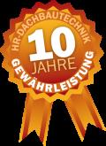 HR Dachbautechnik ist der einzige Dachdeckerei im Kreis Heinsberg, Aachen, Düren und Mönchengladbach, die bis zu 10 Jahre Gewährleistung für Ihre Leistungen gewährt